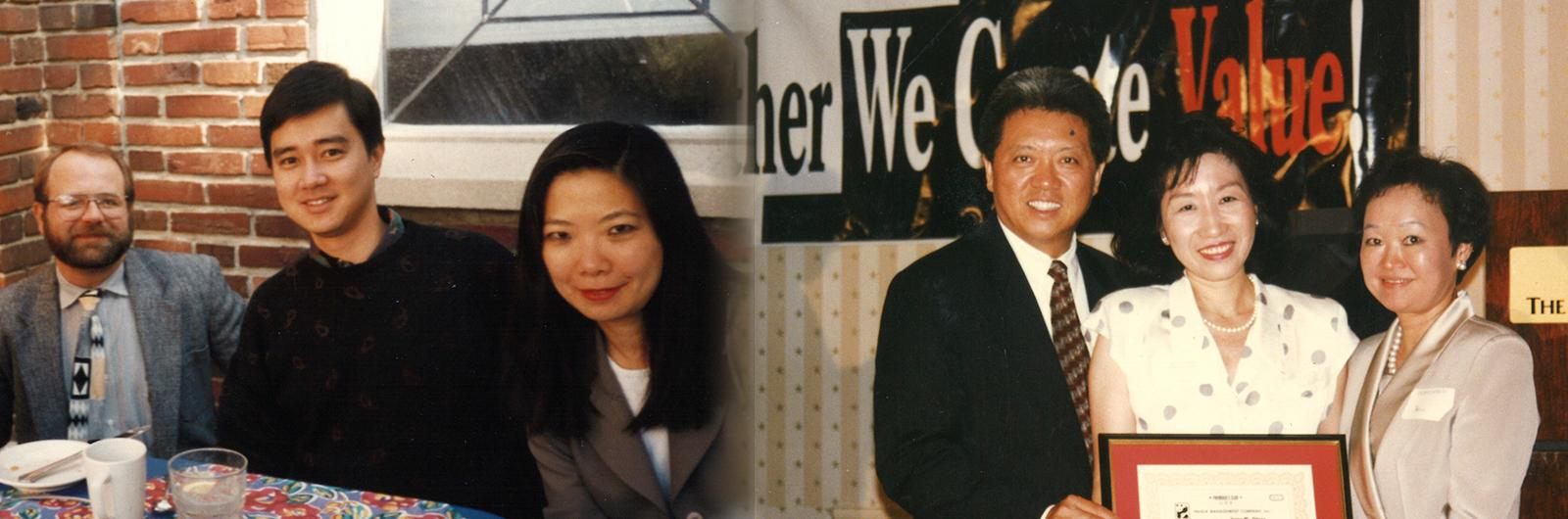 Irene Cherng and Stanley Liu