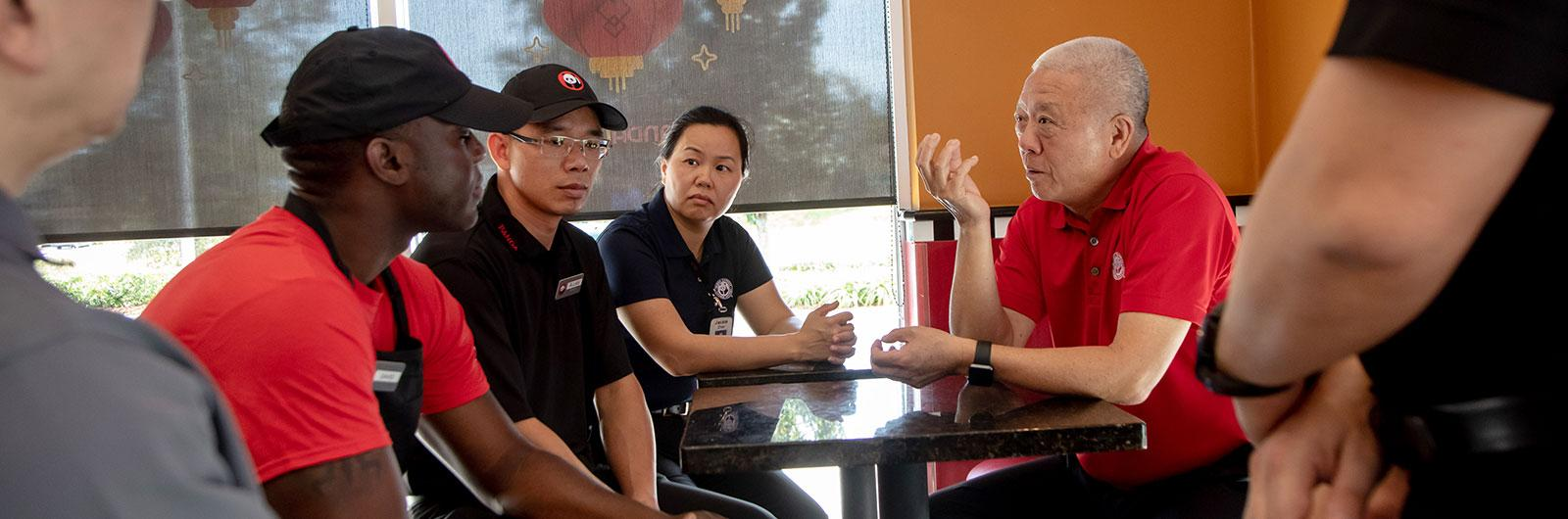 Andrew Cherng with Associates