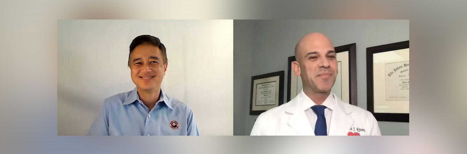 Stanley Liu and Dr. Juan Rivera